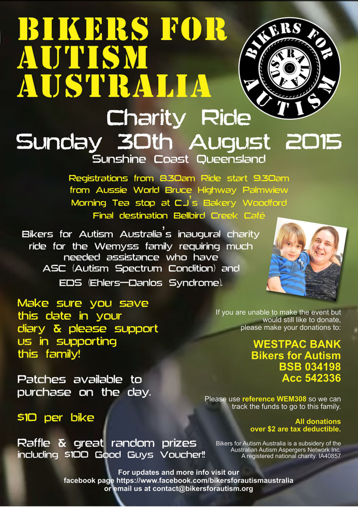 BFAA charity ride poster Aug 2015 FINAL